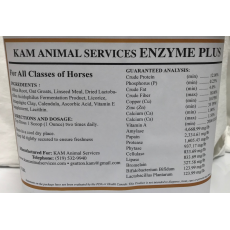 KAM's Enzyme Plus - 5lb bucket
